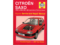 HAYNES CITROEN SAXO SERVICE & REPAIR MANUAL COVERS 1996 to 2004 PETROL & DIESEL