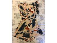 Missguided floral playsuit