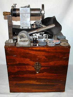 Custom Machinist Grinder W Wooden Box Tt