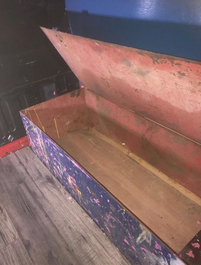 Steel tool chest, van vault
