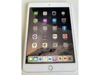iPad mini 3 silver 16GB Excellent condition boxed