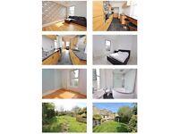 2 Bedroom flat Keynsham Bristol - off street parking and shared garden