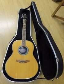 Ovation Applause Summit Series AE21 Electro Acoustic with Hard Case