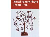 Metal Family Photo Frame Tree Brand New