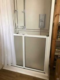 Limited Mobility Enclosed Shower Cubicle