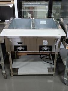 Electric Full Size Steam Tables And Bain Maries --Brand New Display and Warming Equipment