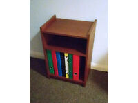Bedside Table/Under Desk Storage Unit Capable Of Storing A4 Ring Binders Or Books for sale  Penrith, Cumbria