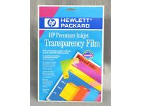 HP A4 Transparency Film