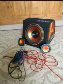 "Edge 12"" sub woofer + speakers"