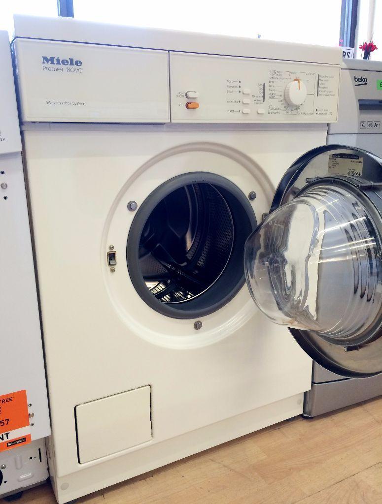 MIELE Premier NOVO White WASHING MACHINE (Quality Brand) + 3 Months  Guarantee + FREE
