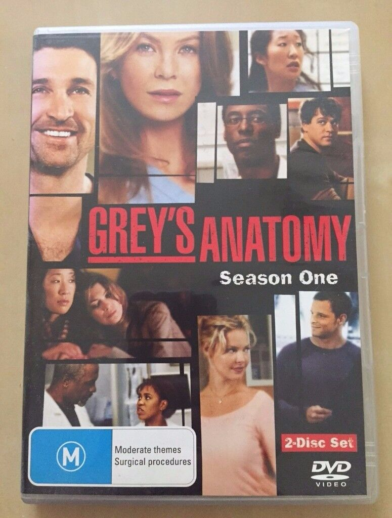 Greys Anatomy Tv Series Dvd Boxset Season 1 In West