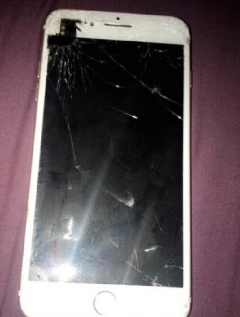 best authentic 24a4d 85810 iPhone 7 Plus. Smashed screen. Fully working | in Liverpool, Merseyside |  Gumtree