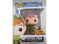 Disney's peter pan hot topic funko pop