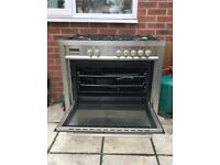Baumatic - Stainless Steel Gas 5 burner oven