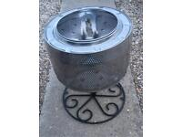 Fire Pit, Patio Heater, Brazier, Garden Incinerator, Camping Fire on a stand