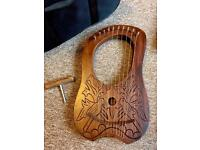 Irish Lyra Harp 10 strings