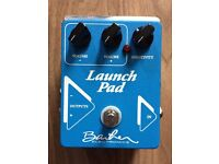Barber Electronics Launch Pad Clean Boost / DI / Buffer / Switcher Pedal
