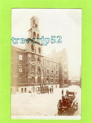 Metropolitan Fire Brigade Station HQ London RP pc used 1906 Ref C109