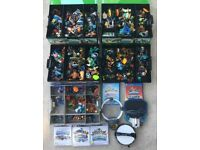 Large collection of 90+ Skylanders Figures, portals and storage boxes PS3 PS4