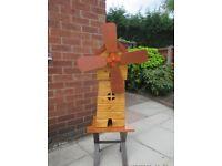 Handmade Wooden Windmill