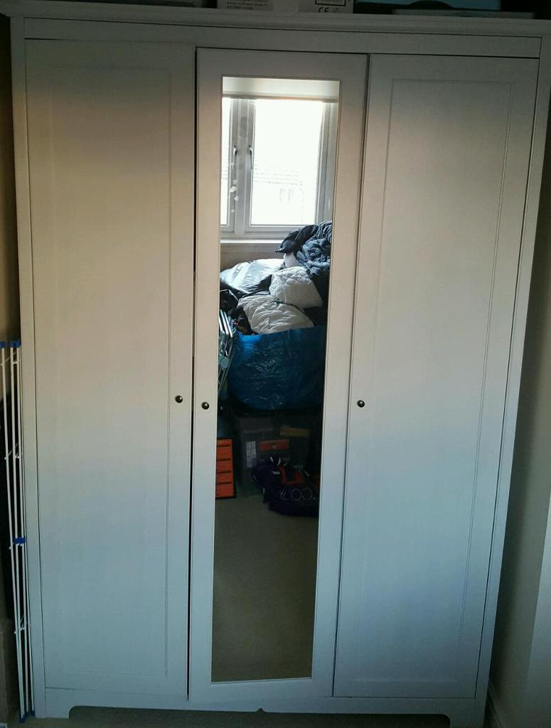 Ikea Galant Open Storage Combination ~ IKEA ASPELUND 3 DOOR WARDROBE  in Larbert, Falkirk  Gumtree