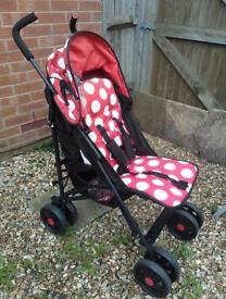 Ladybird stroller
