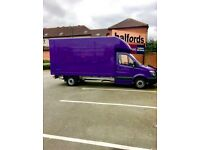 Man and van house removals service rubbish clearance waste collection 24/7 delivery