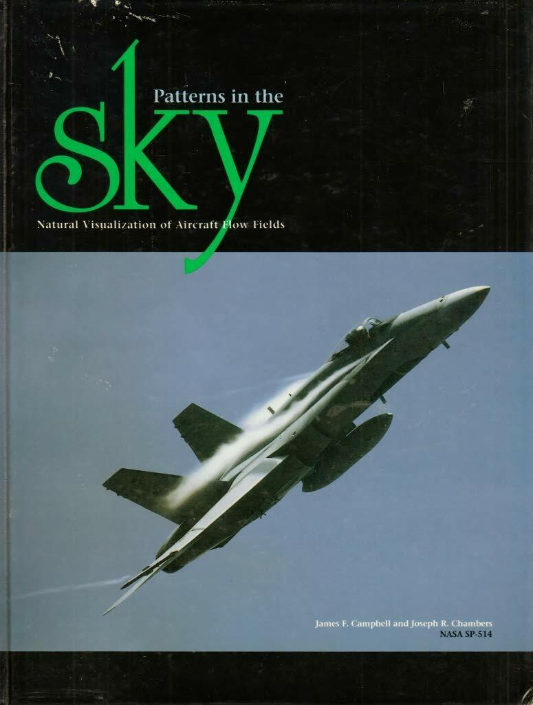 Patterns In The Sky Natural Visualization Of Aircraft Flow Fields Campbell NEW  - $34.95