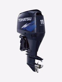 New Tohatsu MD115 Four Stroke Outboard TLDI