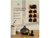 VicTsing 150ml Essential Oil Diffuser For Aromatherapy, Ultrasonic Aroma