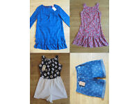 Women's Clothes Bundle New with Tags size 8 Dress Shorts Playsuit Debenhams H&M