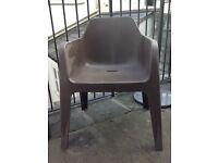 Dwell contemporary chair for interior or garden.