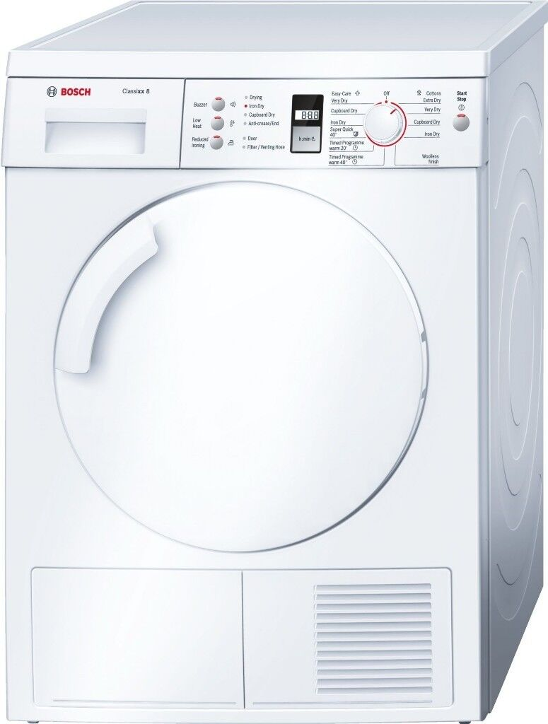 Ex-Lease Bosch Serie | 4 WTV74309GB Classixx 8 Vented Tumble Dryer + 3 Month Warranty
