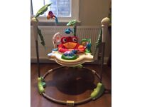 Jumperoo from Fisher Price . Baby bouncer