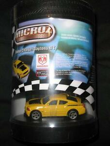 Radio controlled Microz Dodge Charger Daytona, Ford Mustang, etc