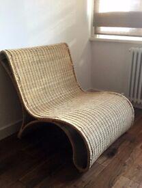 Habitat wicker chair