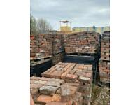 Very old unique reclaimed handmade bricks. 7,000/8,000 available