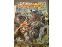 Warhammer Fantasy Role playing Game 1st edition softback rules