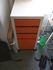 Two Ikea set of draws
