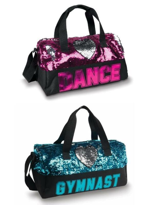NEW Dance Bag Duffle Tote Gymnast Ballet Tap Jazz Hip Hop Street SEQUIN
