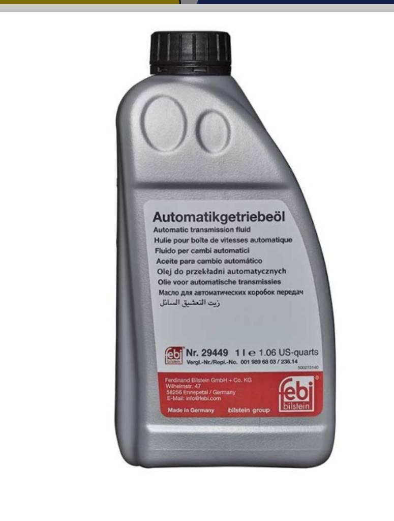 10 Litres of Mercedes Febi Bilstein Transmission Oil(29449 Auto Transmission Fluid