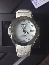 Ladies Aviator leather watch