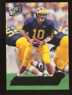 2000 Press Pass Gold Zone #37 Tom Brady RC Rookie