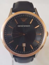 Emporio Armani Mens' Watch AR-2506 (Can post by Royal Mail)