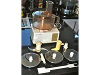 MAGIMIX 3000 FOOD PROCESSOR CUISINE SYSTEME WITH BLADES GOOD WORKING CONDITION