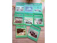 MOTOR SPORT Magazines 1978 - 8 for £10