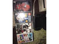 PSP with 4 games, charger (urgent want it to go)
