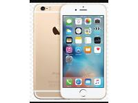 iPhone 6s Plus 16gb in White&Gold on EE