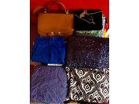 Amazing bargain bundle of vintage/vintage-feel womens clothes size 8-14