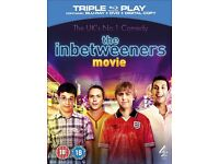 The Inbetweeners: Series 1 And 2 + The Inbetweeners Movie (Blu-Ray) DVD's
